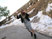 We found snow in LA! How??